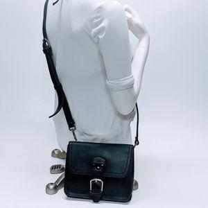 Saddleback Leather Script Logo Carbon Black Bag